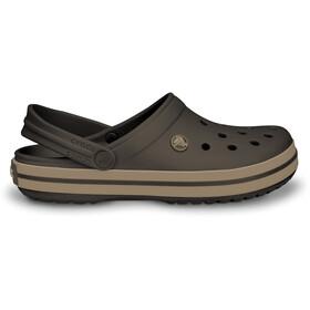 Crocs Crocband sandaalit, espresso/khaki